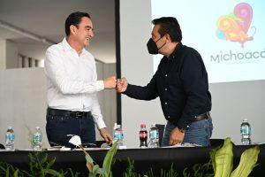 Zamora está listo para poner en alto a Michoacán en Materia turística : Carlos Soto