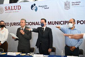 El presidente Carlos Soto es designado vicepresidente de la Red Jurisdiccional de Municipios por la Salud