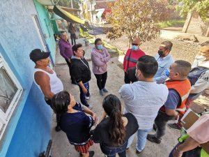 Gobierno Municipal atendió a vecinos de la avenida Lázaro Cárdenas Norte